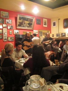 Rebetika - Greek folk music - at dinner