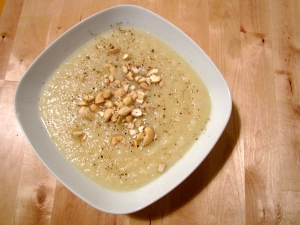 Nutty Winter White Soup