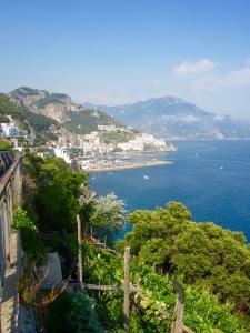 The majestic Amalfi coast