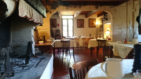 The dining room at La Telline