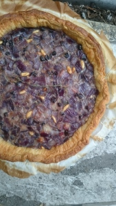 Michel's Red Onion Tart