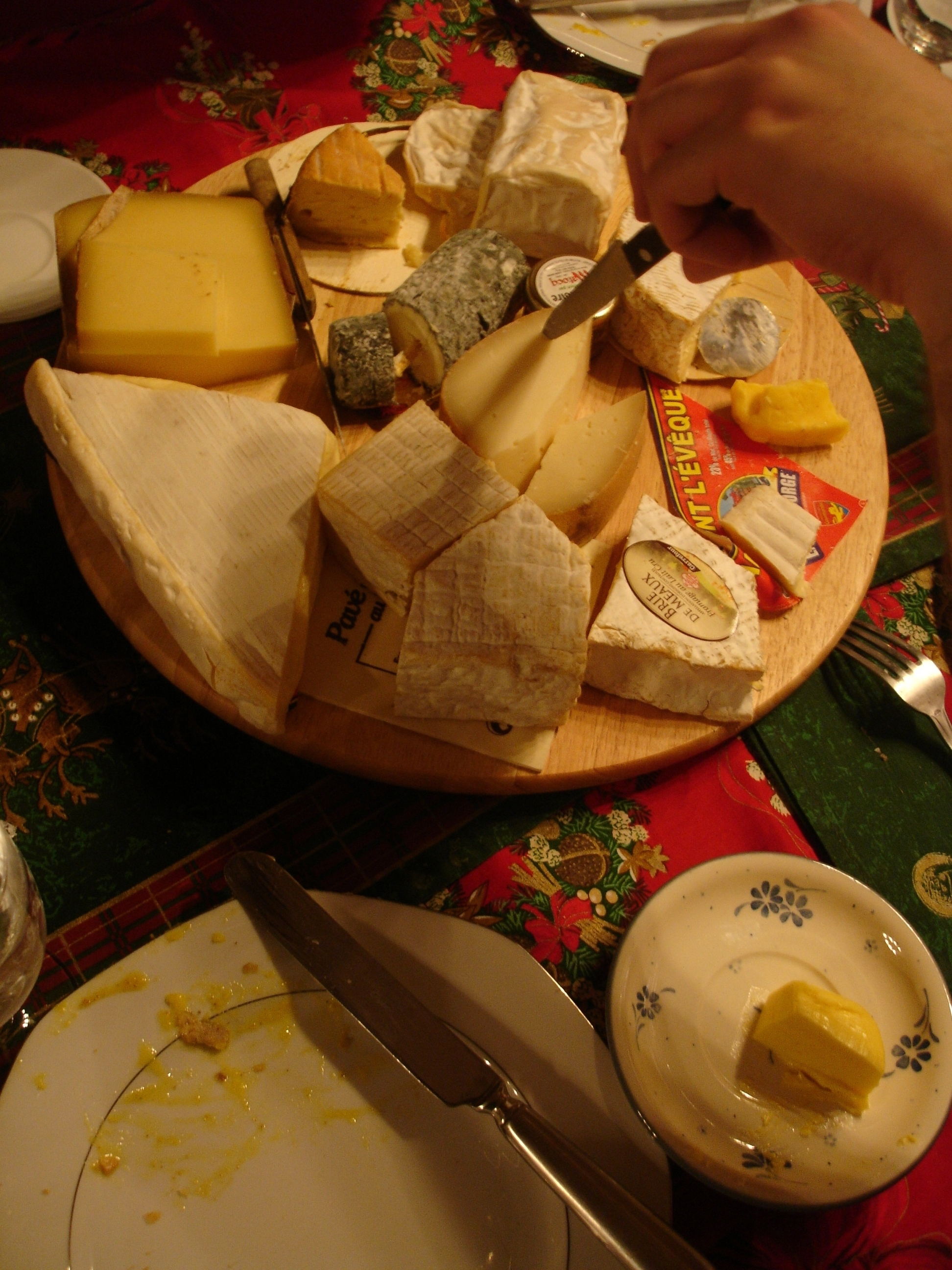 Christmas Cheese Plate 2007 : the cheese plate - pezcame.com