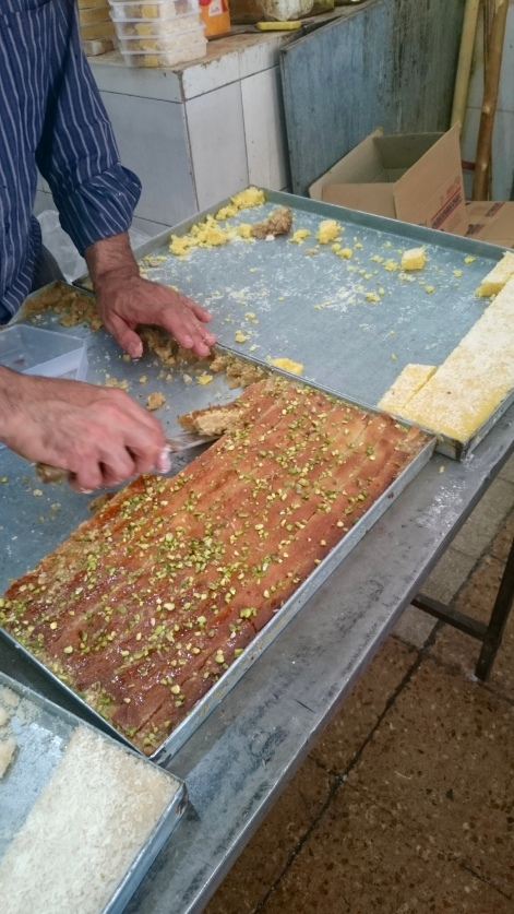 Baklava in Yazd